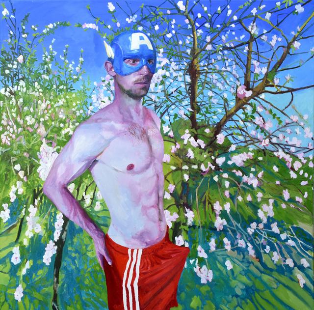 , 'Capitan America,' 2018, Yiri Arts