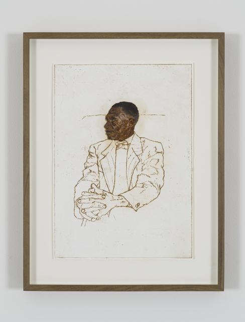 , 'Portrait of Misheck Cornelius Chikanza,' 2018, Tyburn Gallery