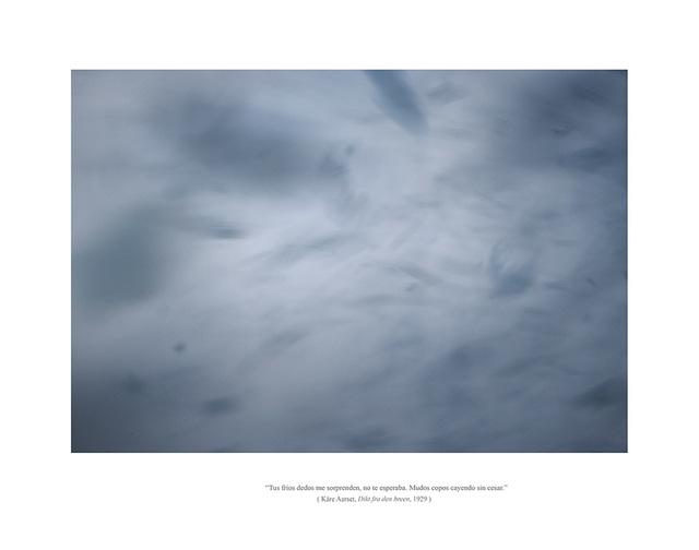 , 'Serie EOLIONIMIA  Snowstorm #2,' 2014, Aural