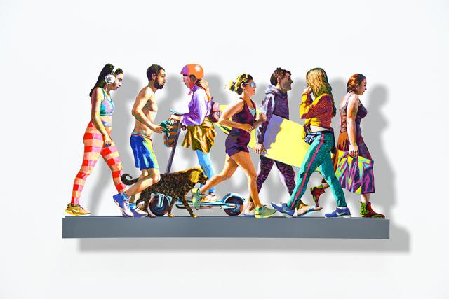 , 'TLV Avenue - Left,' 2019, Galerie Duret