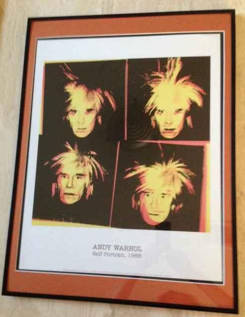 Andy Warhol, 'Andy Warhol - Self Portraits', 1986, Print, Lithograph, Leviton Fine Art