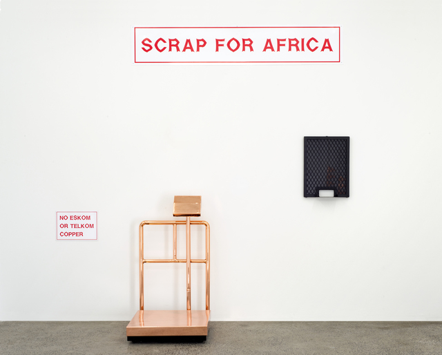 , 'Scrap for Africa,' 2016, WHATIFTHEWORLD