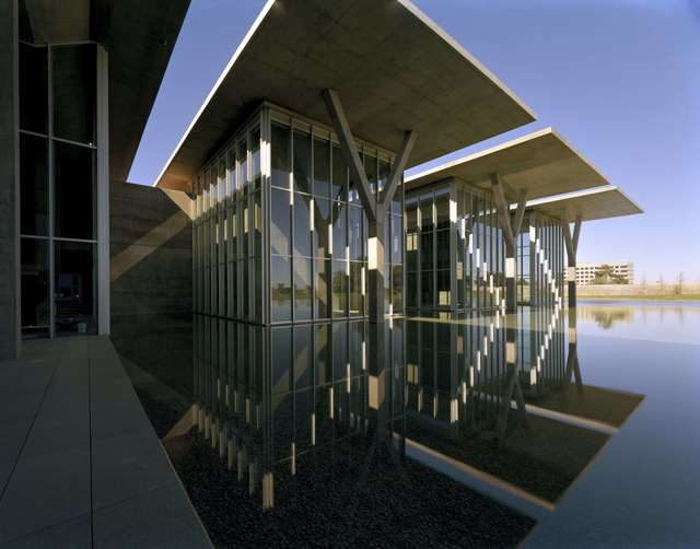 , 'The Modern Art Museum of Fort Worth,' 2002, CAMERA WORK