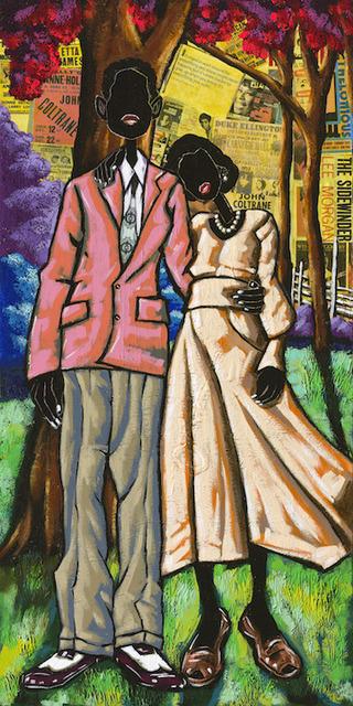 Leroy Campbell, 'Date Night', 2016, Richard Beavers Gallery