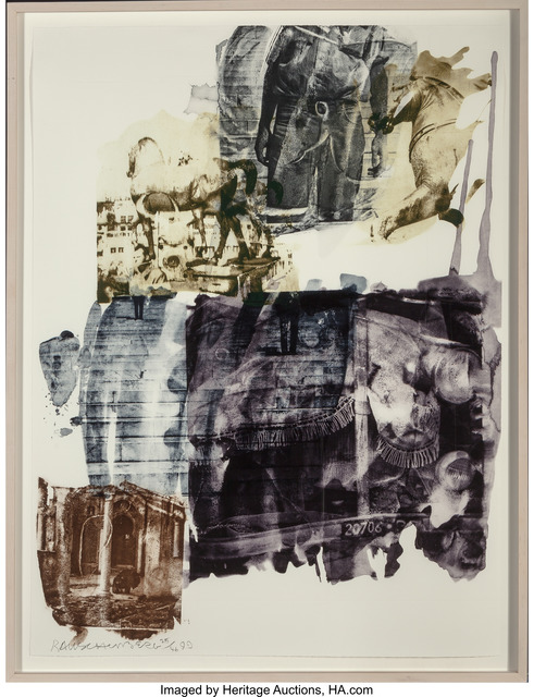 Robert Rauschenberg, 'Eagle Eye (Ruminations)', 1999, Print, Intaglio in colors with etching, Heritage Auctions