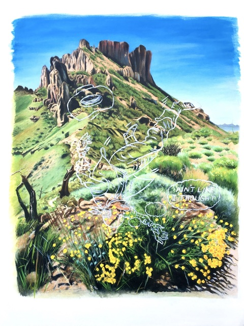 , 'Along Lost Mine Trail,' 2018 , Ro2 Art