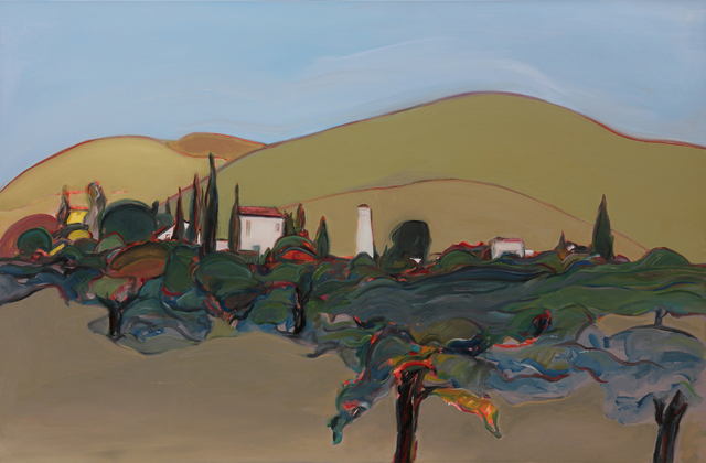 , 'Vineyard,' 2017, Caldwell Snyder Gallery