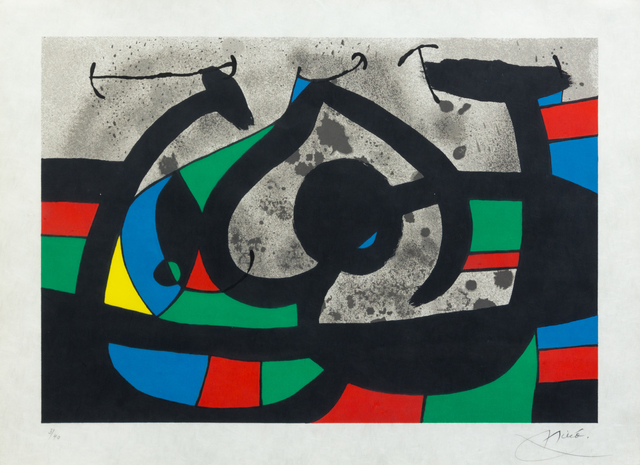 Joan Miró, 'Untitled (pl. 11 from Le Lezard Aux Plumes d'Or)', 1971, Hindman