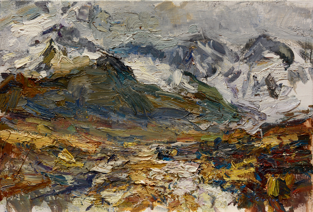 Ulrich Gleiter, 'Clouds Lifting, High Mountains', 2017, Gallery 1261