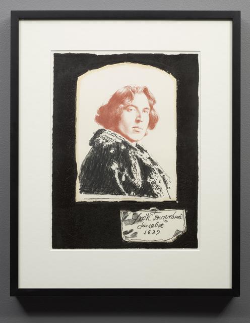 , 'Oscar Wilde,' 2016, Parafin