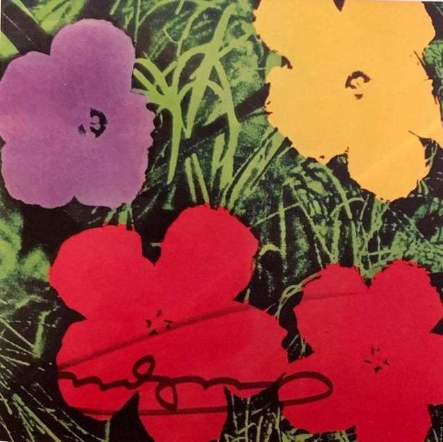 Andy Warhol, 'Flowers Invitation Card', 1970, Wallector