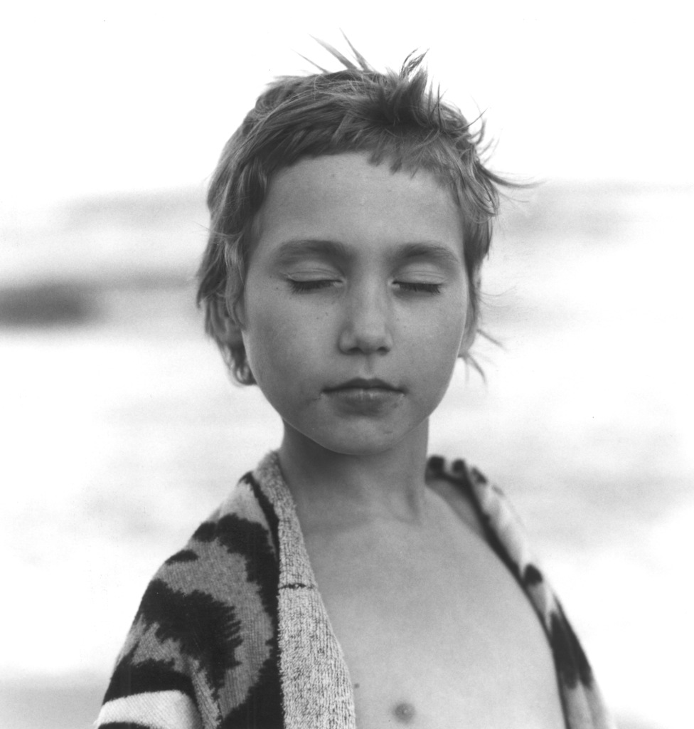 Frauke Eigen, 'Mädchen am Strand (Girl on the Beach), Ukraine', 2001, Photography, Gelatin silver print, Atlas Gallery