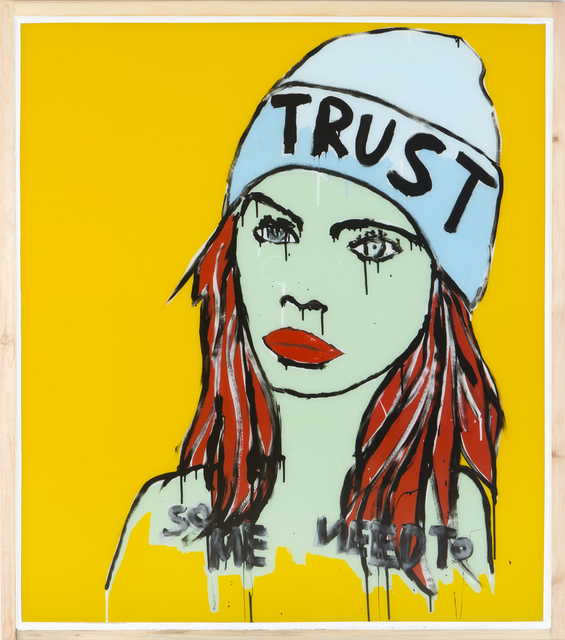 , 'Trust,' 2017, Galerie Schimming