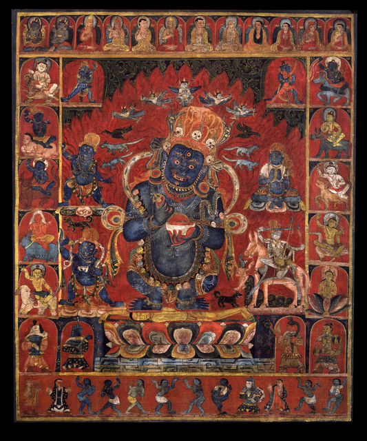 , 'Panjara Mahakala,' 15th century, Rubin Museum of Art