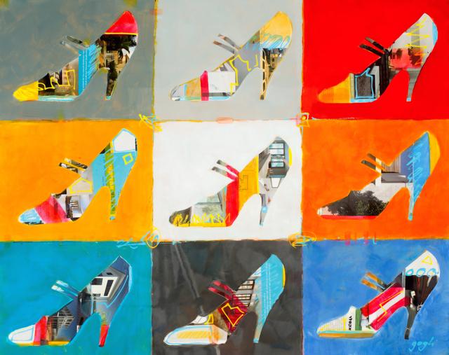 , 'Nine Stilettos ,' 2014, Blue Gallery