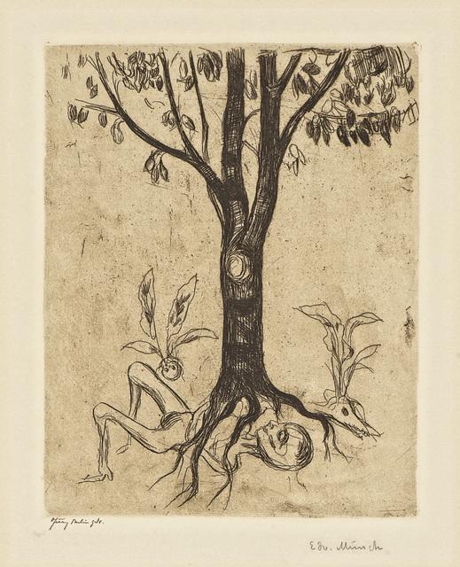 , 'Liv og død (Life and Death),' 1902 (or earlier), John Szoke