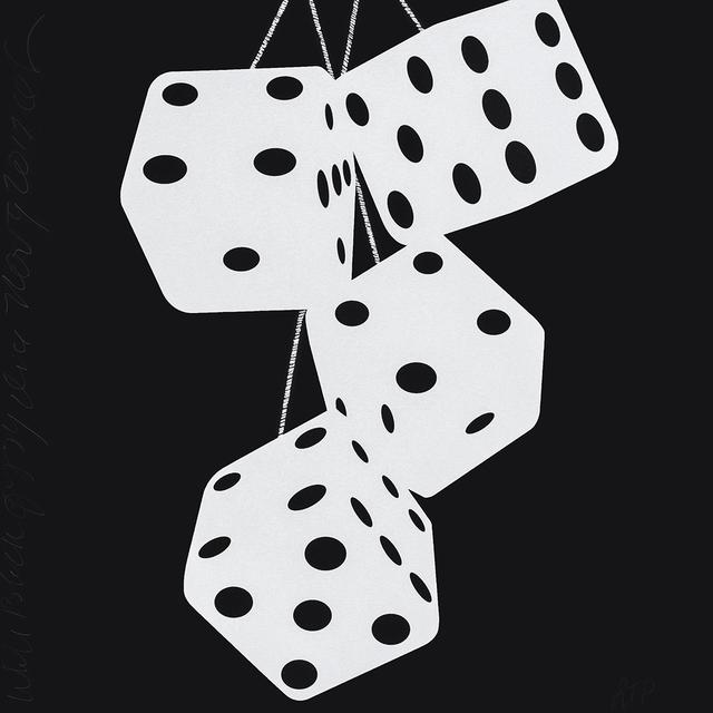 , 'Fuzzy Dice (White Black Fuzzy Dice),' 2017, Maune Contemporary