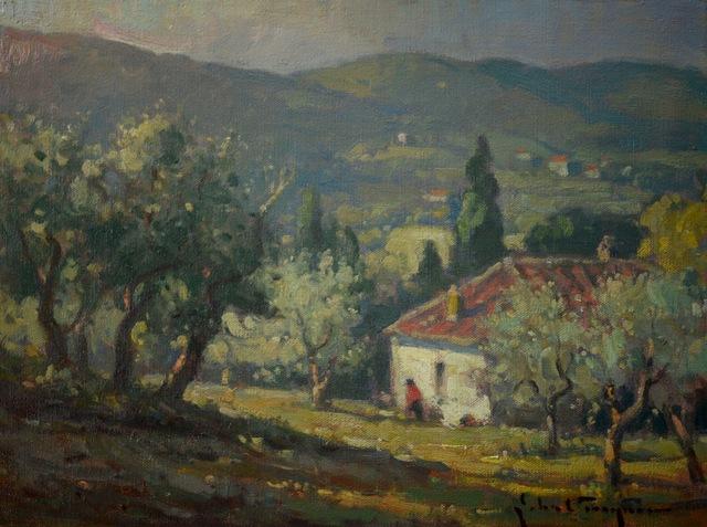 , 'Olive Grove, Tuscany,' , J. Cacciola Gallery