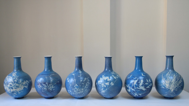 , 'Blueware Vases,' , The Future Perfect
