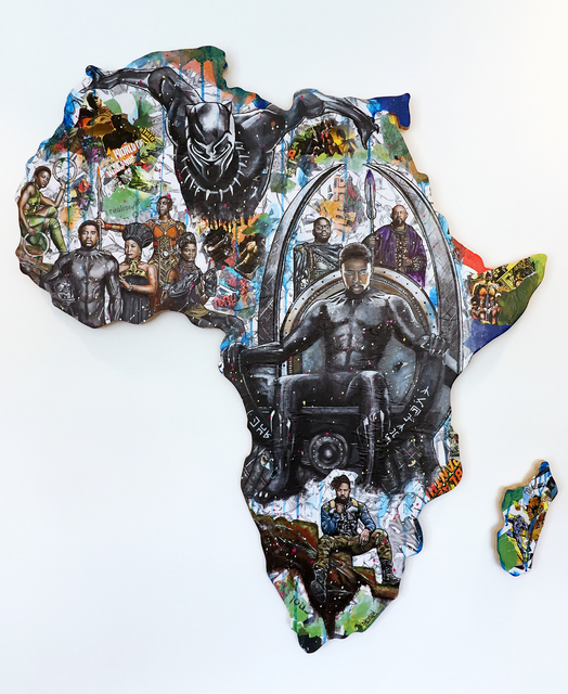 , 'Welcome to Wakanda - It's a family affair,' 2018, Thompson Landry Gallery