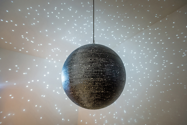Katie Paterson, 'Totality', 2016, Sculpture, A miror ball of images of almost every solar eclipse. Printed mirrorball, motor & lights., Ingleby Gallery