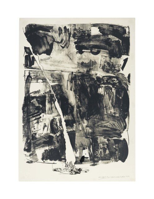 Robert Rauschenberg, 'Accident', 1963, Print, Lithograph on Rives BFK paper, Christie's