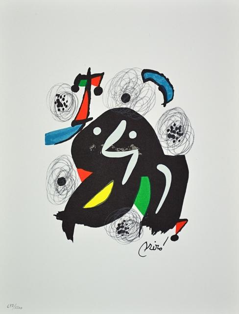 Joan Miró, 'La Melodie Acide', ARTEDIO