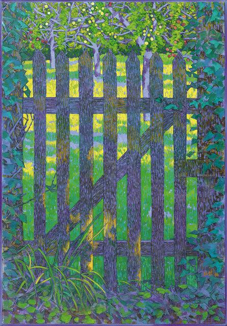 , 'Gartentor,' 2014, Galerie Carzaniga
