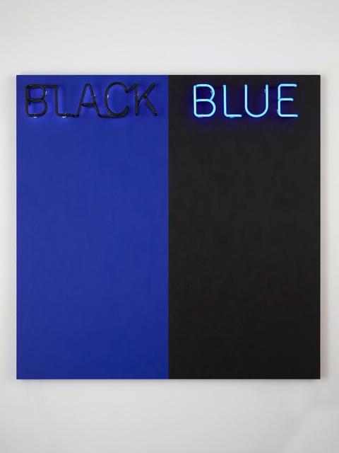 , 'Black and Blue #2,' 2015, Paul Kasmin Gallery