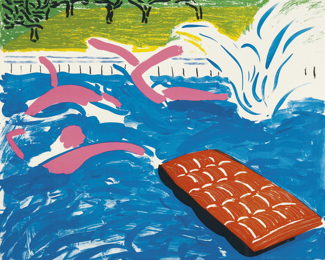 David Hockney, 'Afternoon Swimming', 1979, Christie's