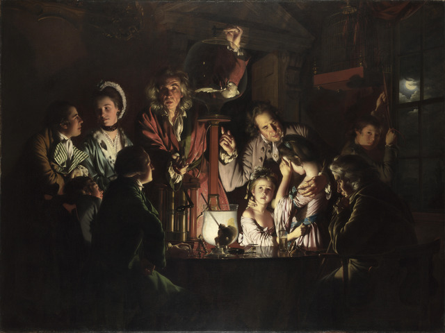 Joseph Wright of Derby, 'An Experiment on a Bird in the Air-Pump', 1768, Painting, Oil on canvas, The National Gallery, London