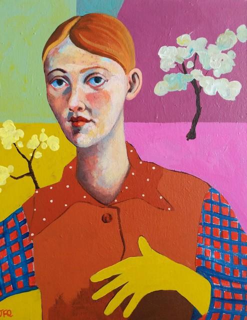 , 'Young Woman,' 2019, Kittoe Contemporary