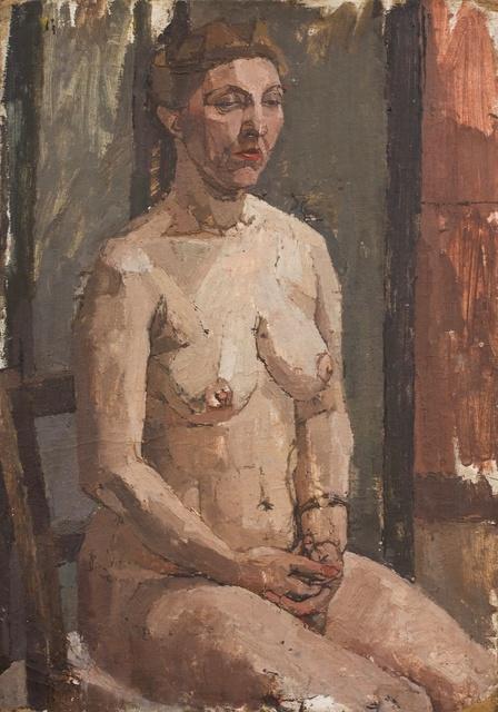 , 'Seated Nude,' ca. 1954, Piano Nobile