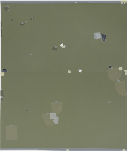 , 'Defining Green,' 2016, Zeno X Gallery