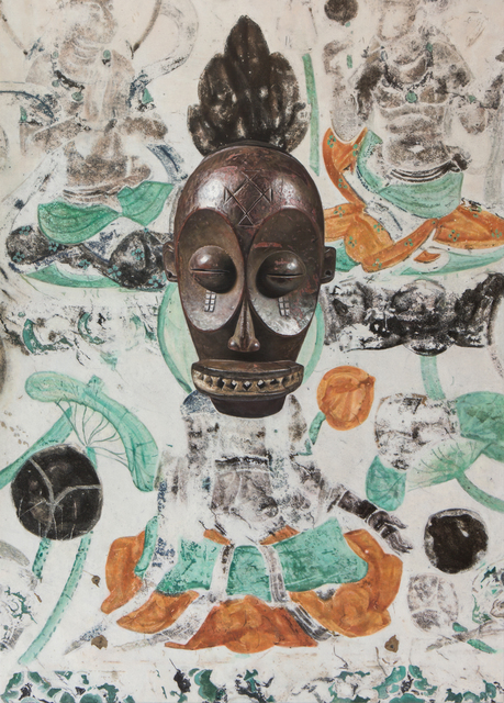 , 'Evolution- North Wall of Mogao Cave No. 023, Diula Mask,' 2019, MadeIn Gallery