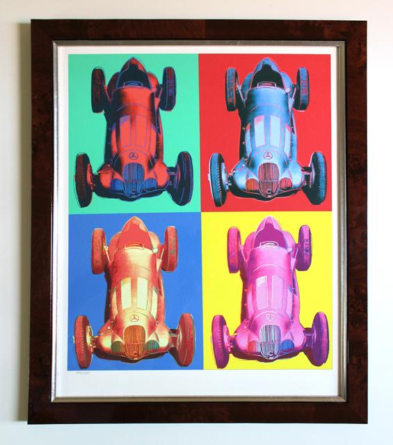 After Andy Warhol, 'Mercedes-Benz Rennwagen W 125', ca. 2007, EHC Fine Art Gallery Auction