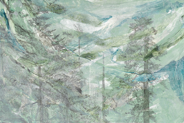 , ' Silver Fog and Ink  |  銀白迷霧與墨色,' 2018, Affinity ART