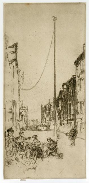 , 'The Venetian Mast,' 1879, Harris Schrank Fine Prints