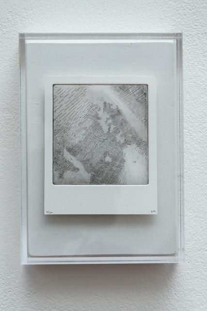 , 'Polaroid Etching 1,' 2015, Joanna Bryant & Julian Page