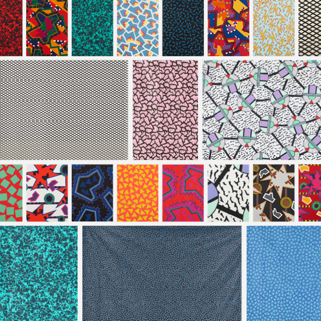 Memphis, 'Collection of fabric and fabric swatches', Wright