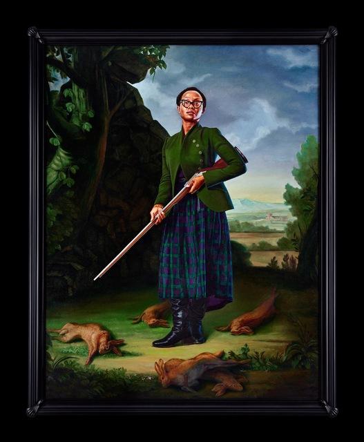 , 'Portrait of Lynette Yiadom-Boakye, Jacob Morland of Capplethwaite,' 2017, Sean Kelly Gallery