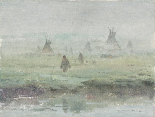 Ernest Chiriacka, 'Water's Edge', 1965-1975, Casweck Galleries