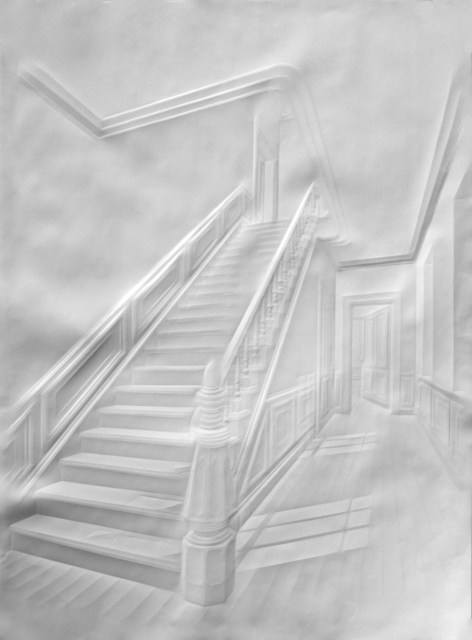, 'Untitled (Stairs with Figure),' 2015, Foley Gallery