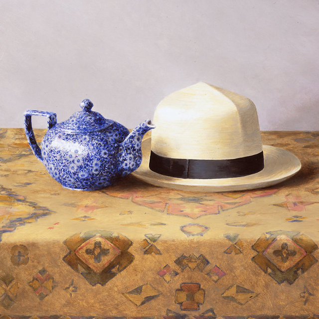 , 'Hat and Teapot,' 2016, Portal Painters