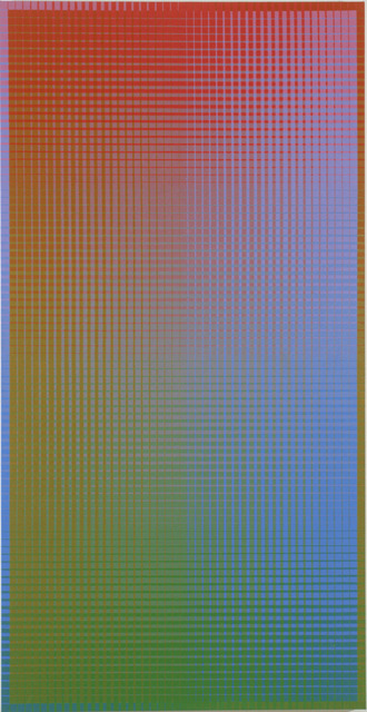 , 'II-15#1B (R-G/=V) (Vertical),' 2001, David Richard Gallery