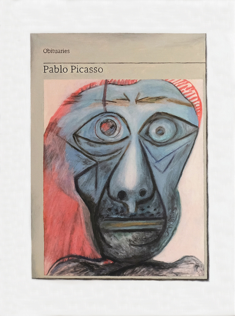 Hugh Mendes, 'Obituary: Pablo Picasso', 2018, Charlie Smith London