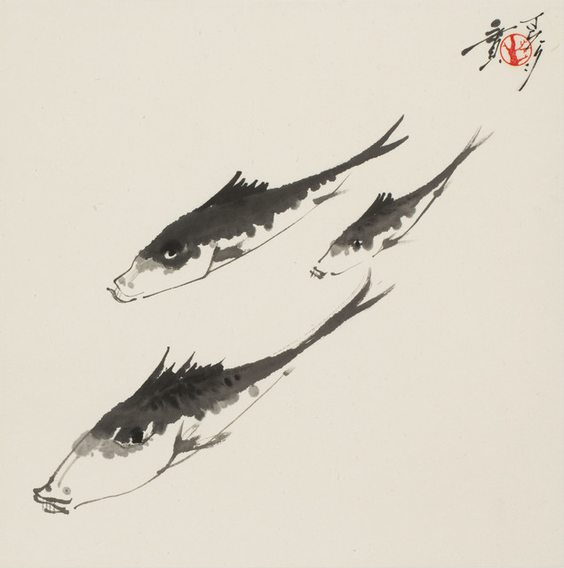 , 'Three Fishes (MA-113),' 1977, Erik Thomsen