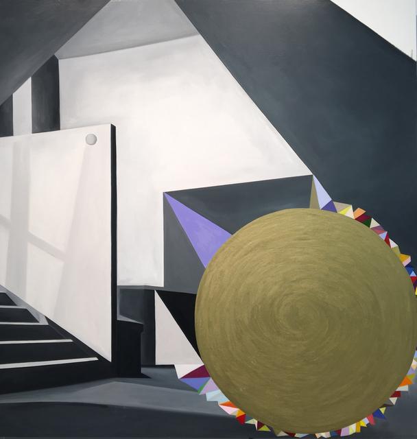Julie Langsam, 'Whirling Dervish ', 2020, Painting, Oil on wood panel, 532 Gallery Thomas Jaeckel