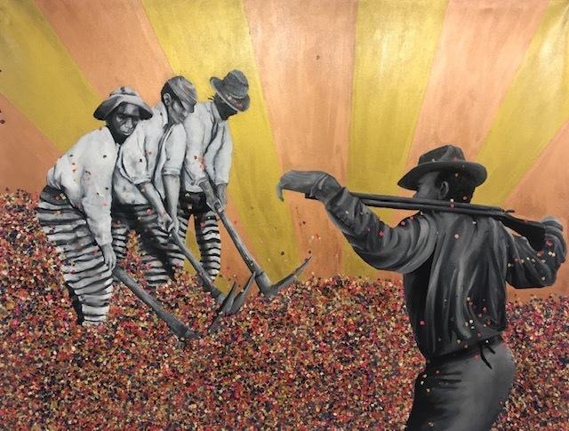 Daniel Döring, 'Confetti Workers', 2013, Galerie Makowski