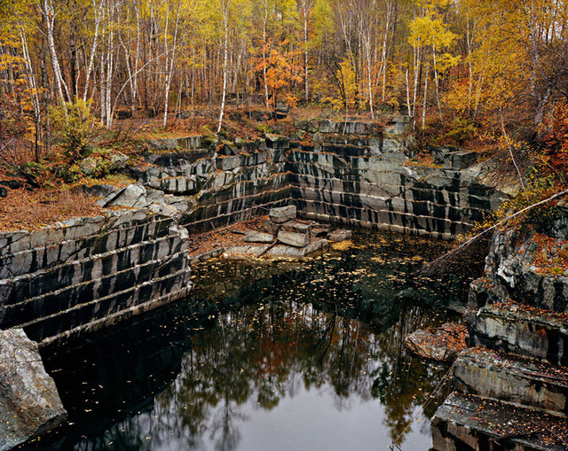 , 'Vermont Marble Company #5, Abandoned Granite Quarry,' 1991, Sundaram Tagore Gallery